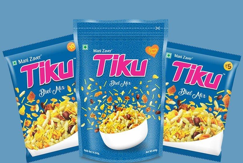 Tiku Best Bhel Mix in Gujarat - Tiku Snacks