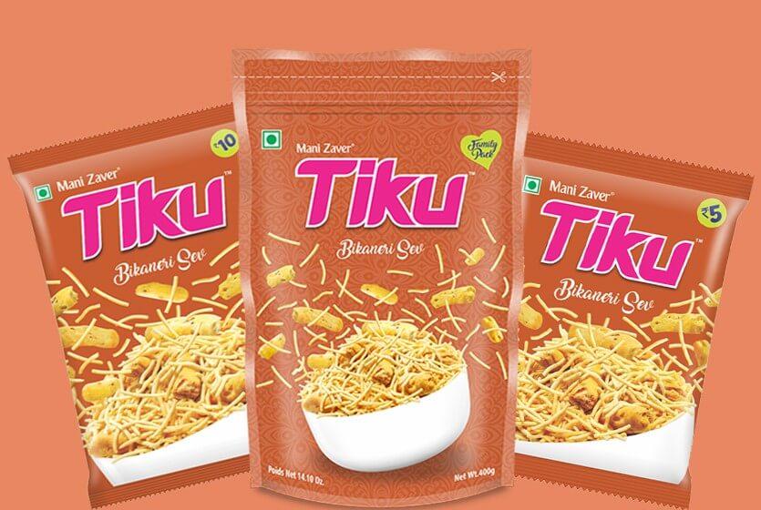 Tiku Bikaneri Sev in Gujarat - Tiku Snacks