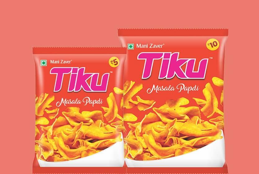 Tiku Masala Papdi in Gujarat - Tiku Snacks