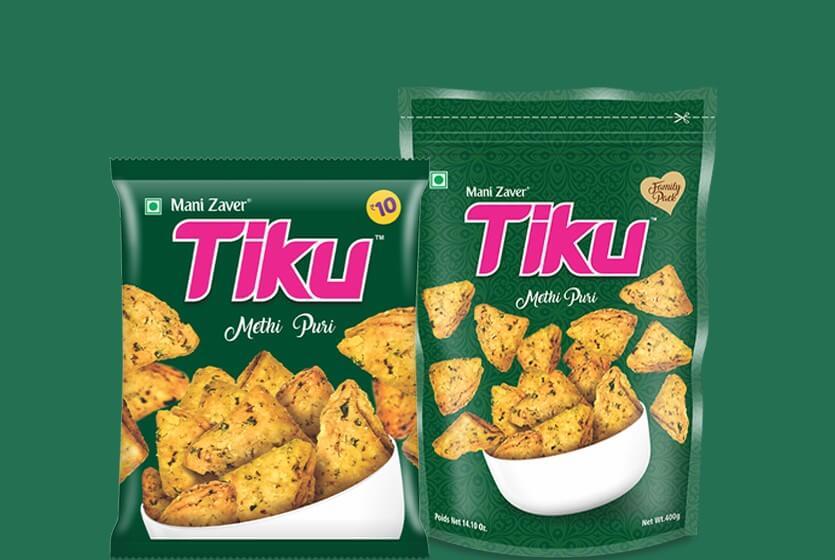 Tiku Methi Puri snack in Gujarat - Tiku Snacks