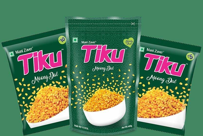 Tiku Moong Dal in Gujarat - Tiku Snacks