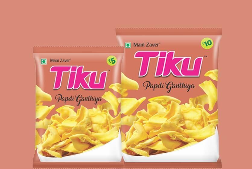 Tiku Best Papdi Gathiya in Gujarat - Tiku Snacks