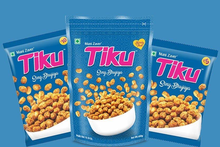 Tiku Chana Dal in Gujarat - Tiku Snacks