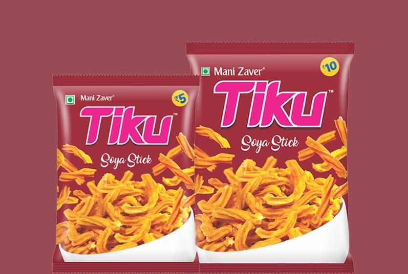Tiku best Soya Stick in Gujarat - Tiku Snacks
