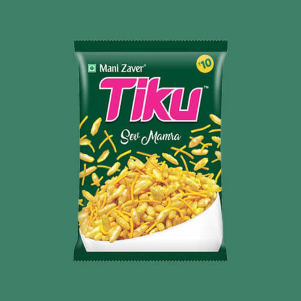 Tiku Sev Mamra in Gujarat - Tiku Snacks
