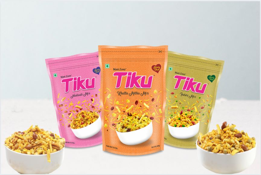 Tiku family pack snacks wholesaler in Gujarat