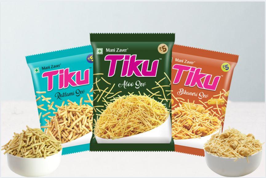Tiku Small Size Snacks Packets