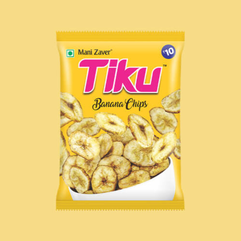 Tiku best banana chips in Gujarat - Tiku Snacks