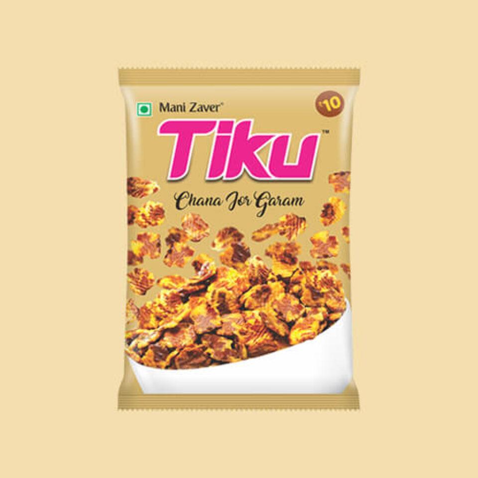 Tiku best Chana Jor Garam in Gujarat - Tiku Snacks