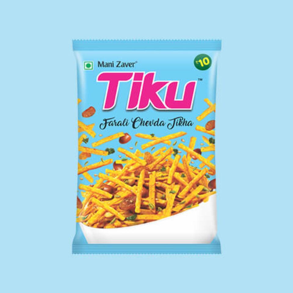 Tiku Farali Chevda Tikha in Gujarat - Tiku Snacks