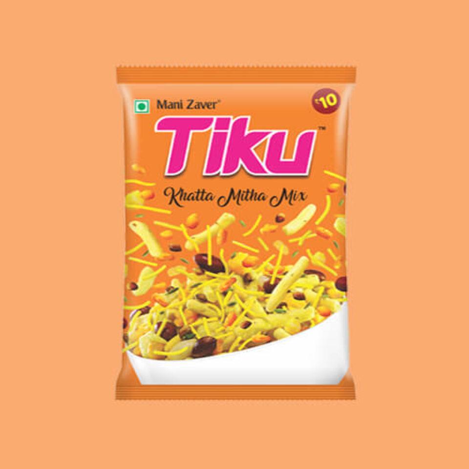 Tiku Khatta Mitha Mix in Gujarat - Tiku Snacks