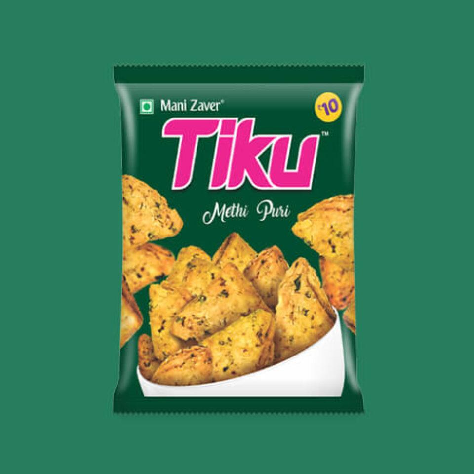 Tiku Methi Puri Best Healthy Snack